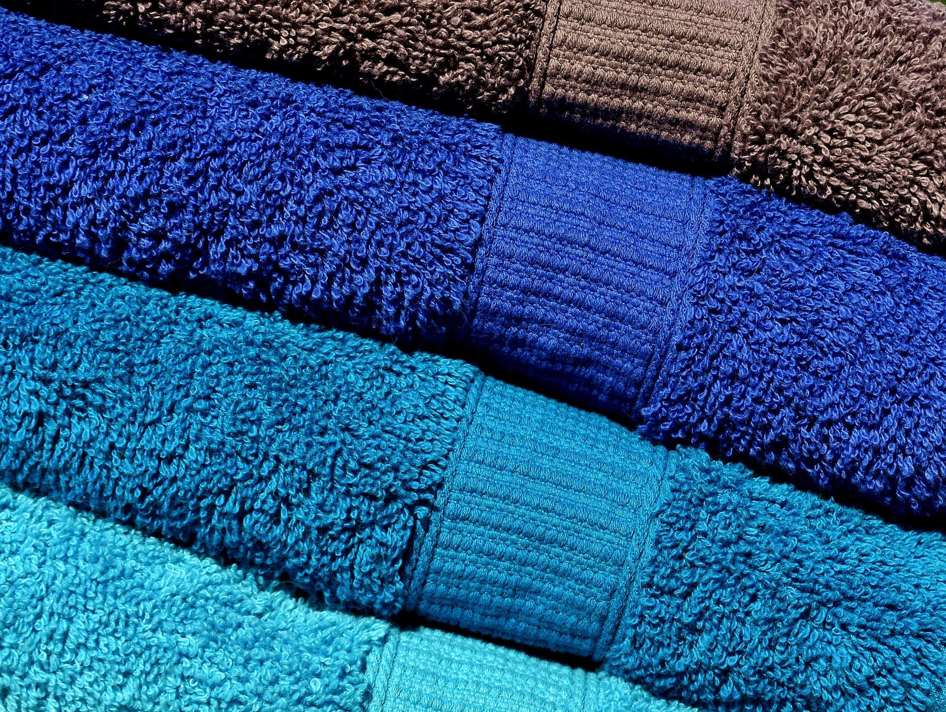 toallas plegadas