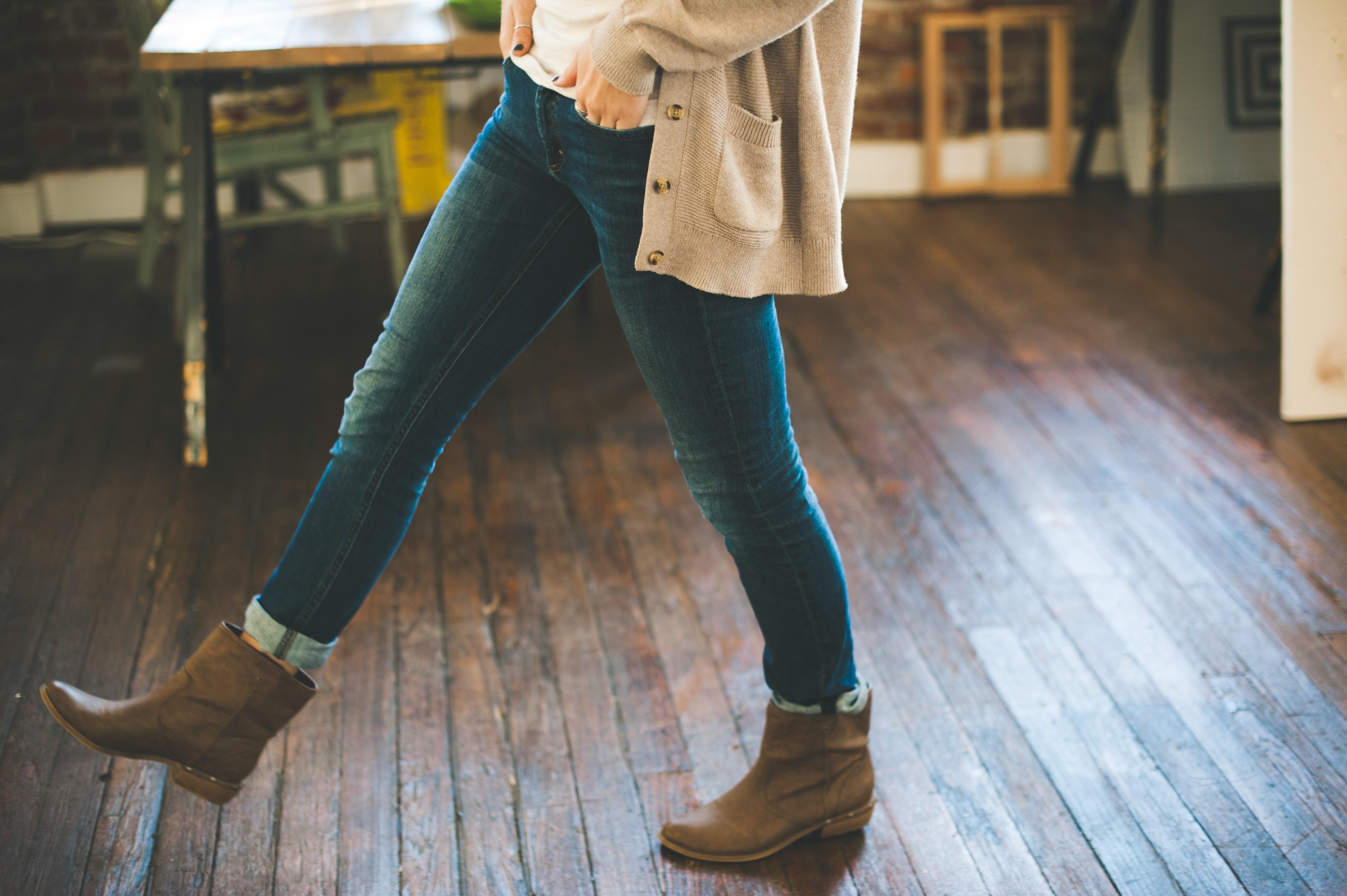 Questi stivali sono fatti per camminare