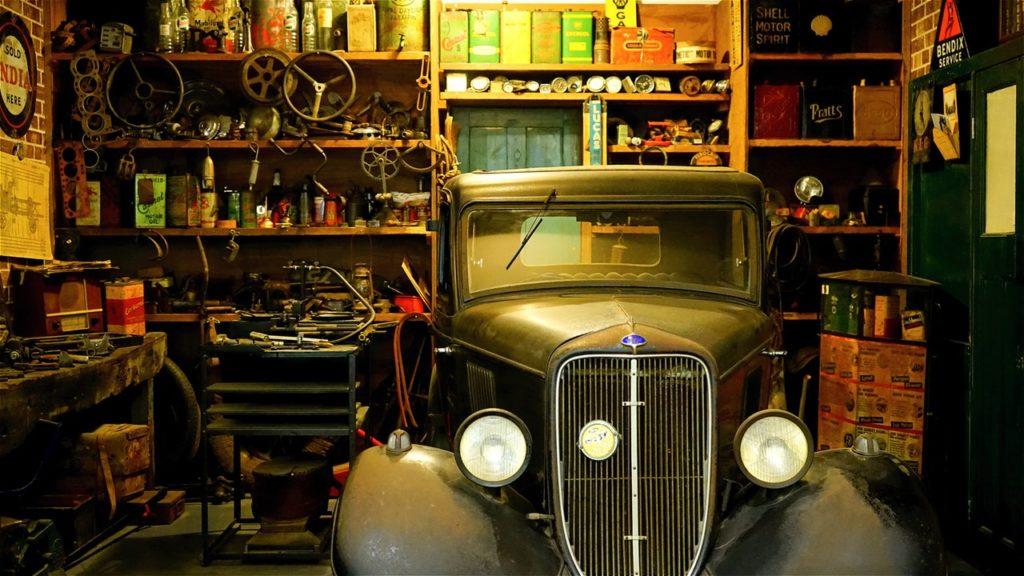 organizzazione del garage