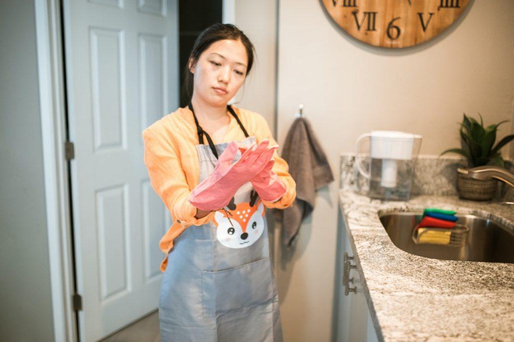 Riconosci che non si tratta (davvero) di faccende domestiche
