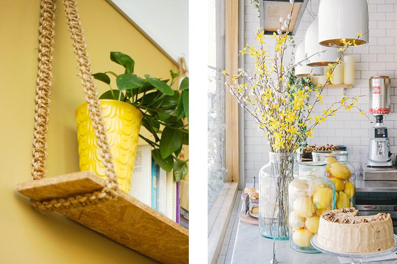 decorazione gialla