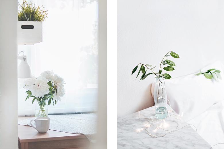 decorazione minimalista naturale